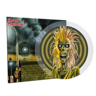 """Iron Maiden 12"""" Vinyl (Limited Edition Crystal Clear Picture Disc)"""
