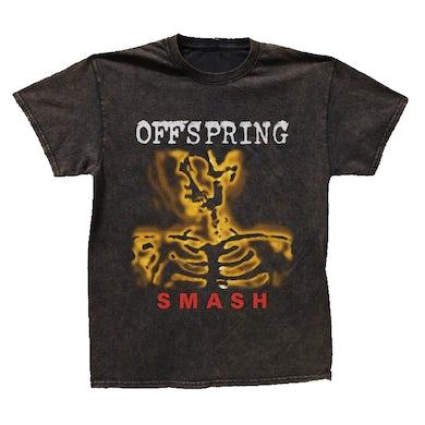 The Offspring Smash Tee (Black Vintage Wash)