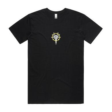 In Hearts Wake Wakening Embroidered Tee (Black)