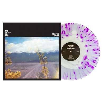 """Proper Dose 12"""" Vinyl (White in Clear w/ Purple Splatter)"""