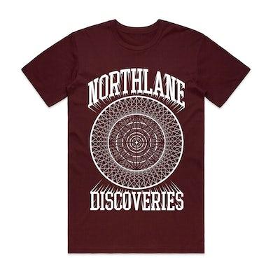 Northlane Discoveries Circle Tee (Burgundy)