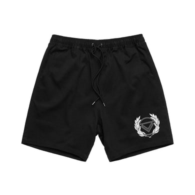 Wreath Shorts (Black)