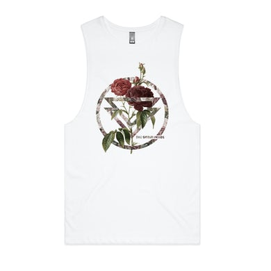 The Ghost Inside Rose Sleeveless (White)