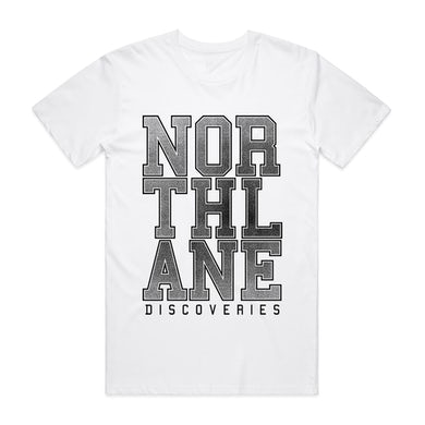 Northlane Discoveries Tee (White)