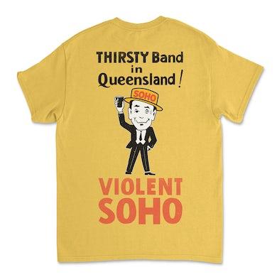 Violent Soho Mr Soho Tee (Daisy Yellow)