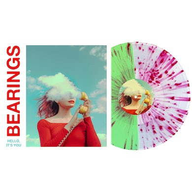 "Hello, It's You 12"" Vinyl (Half Ultra Clear/Half Mint w/ Heavy Red(ish) Splatter)"