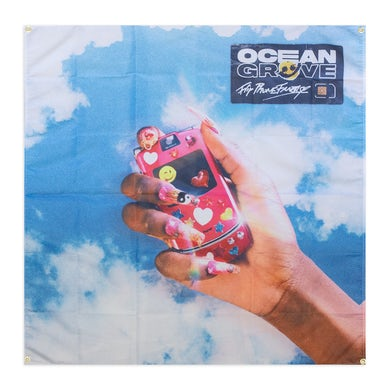 Ocean Grove Flip Phone Fantasy Wall Flag