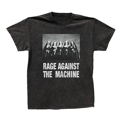 Rage Against The Machine Nuns with Guns Tee (Black Vintage Wash)
