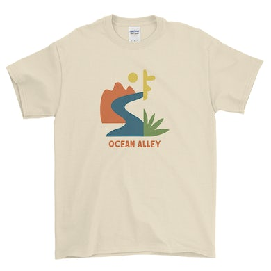 Ocean Alley Abstract Tee (Natural)