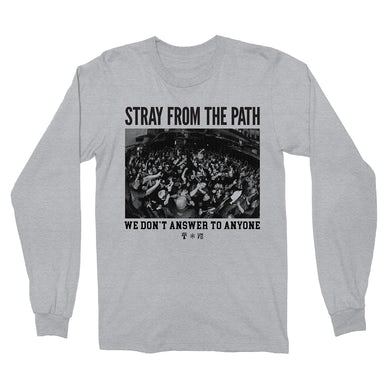 Stray From The Path We Don't Answer To Anyone Longsleeve (Grey)