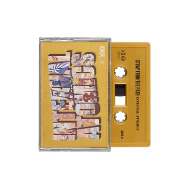 Stray From The Path Internal Atomics Cassette (Dark Yellow)