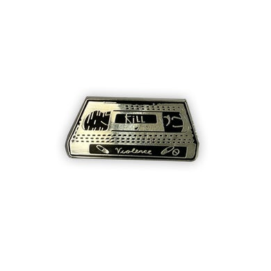 Frank Iero VHS Tape Pin