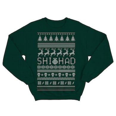 Shihad Christmas Sweater (Green)