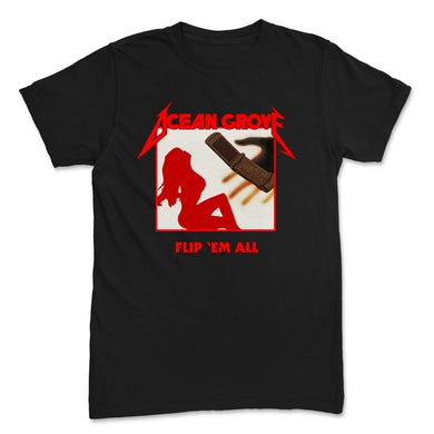 Ocean Grove Flip 'Em All Tee (Black)