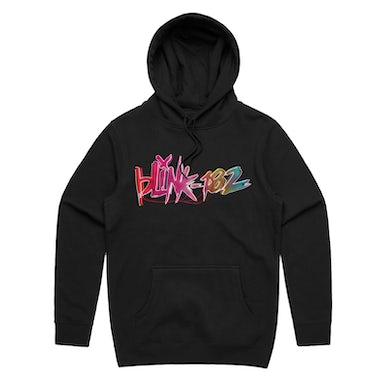 Blink-182 Nine Neon Logo Hoodie (Black)