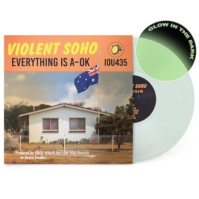 "Violent Soho Everything Is A-OK 12"" Vinyl (Glow In The Dark)"