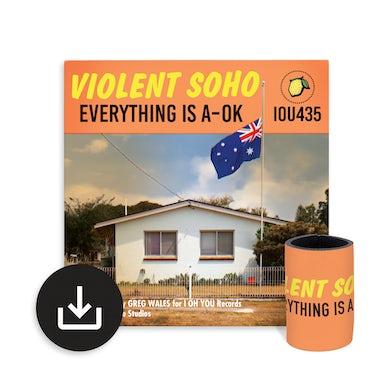 Violent Soho Everything is A-OK Digital Album + Free Stubby Holder