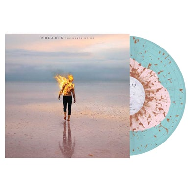 "Polaris The Death of Me 12"" Vinyl (Baby Pink in Electric Blue w/ Orange Splatter)"