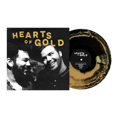 "Hearts of Gold 12"" Vinyl (Black & Gold Aside/Bside)"