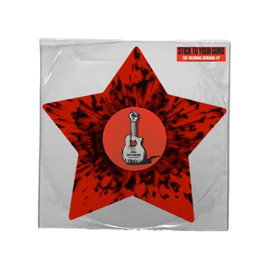 The Meaning Remains EP (Blood Red w/ Black Splatter Star Shaped Vinyl)
