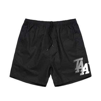 The Amity Affliction TAA NB Shorts (Black)