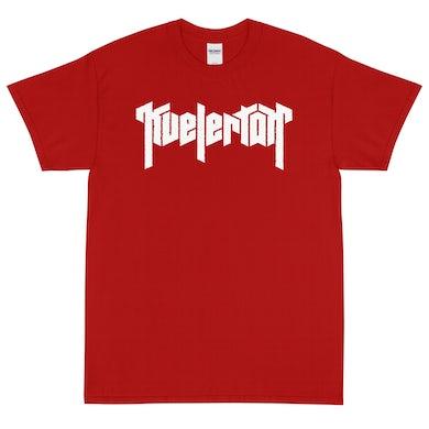 Kvelertak Logo Tee (Red)