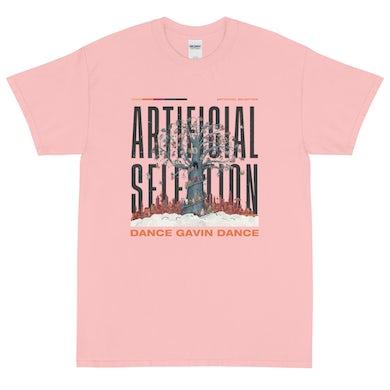 Dance Gavin Dance Artificial Selection Tee (Pale Pink)