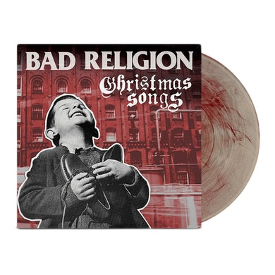 """Bad Religion Christmas Songs 12"""" Vinyl (Clear/Red)"""