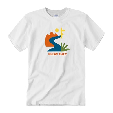 Ocean Alley Abstract Tee (White)