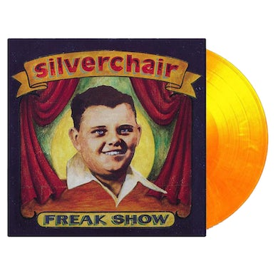 "Silverchair Freak Show 12"" Vinyl (Limited Edition Red/Yellow Flaming)"