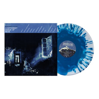 """Knocked Loose A Different Shade of Blue 12"""" Vinyl (Ultra Clear & Aqua Cloudy)"""