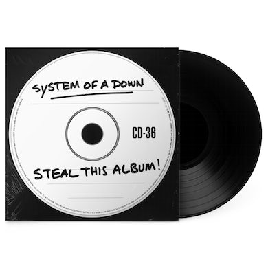"""System Of A Down Steal This Album! 12"""" Vinyl (180gm Reissue)"""