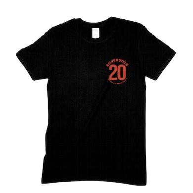 Silverstein 20th Anniversary Eagle Tee (Black)