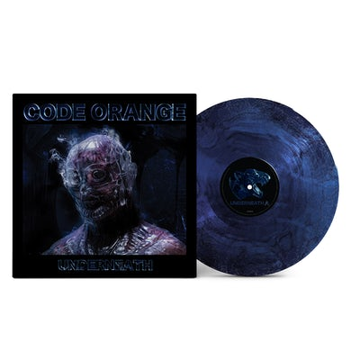"Underneath 12"" Vinyl (Blue/Silver)"