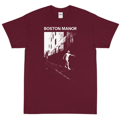 Boston Manor Glue Tee (Maroon)