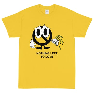 Counterparts 40050 Sad Face Tee (Yellow)
