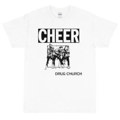 Drug Church Cheer Tee (White)