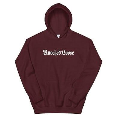 Knocked Loose Church Hoodie (Maroon)