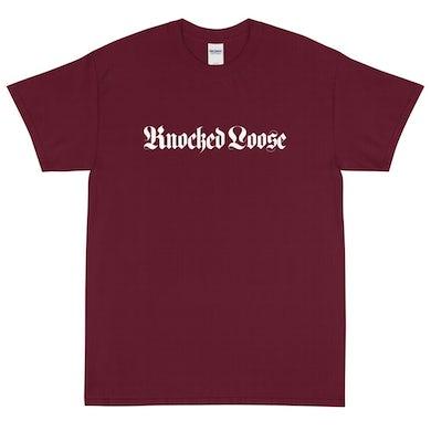Knocked Loose Church Tee (Maroon)