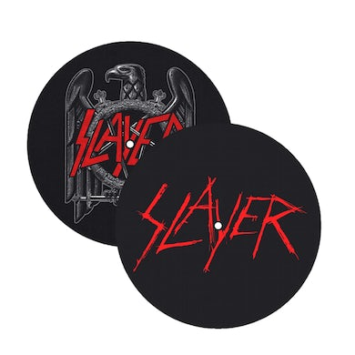 Slayer Eagle/Scratched Logo Slipmat Pack