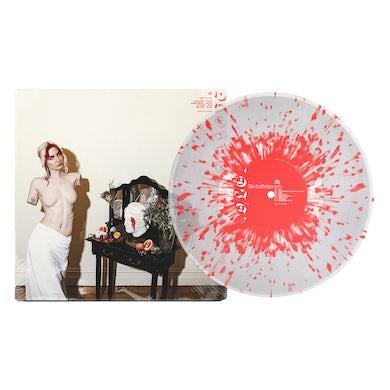 "Bad / Love Life Imitates Art 12"" Vinyl (Clear w/ Red Splatter)"