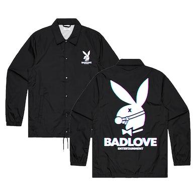 Bad / Love Bunny Windbreaker (Black)