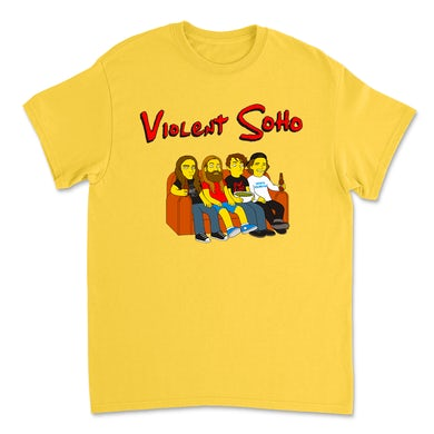 Violent Soho Springfield 4122 Tee (Daisy Yellow)