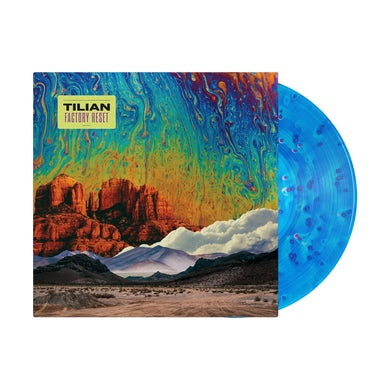"""Tilian Factory Reset 12"""" Vinyl (Ghostly - Ultra Clear, Royal Blue, Neon Pink)"""