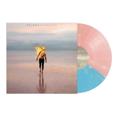"Polaris The Death Of Me 12"" Vinyl (Half Baby Pink/Half Baby Blue w/ Bone Splatter)"