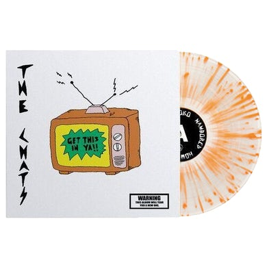 "Get This In Ya 12"" Vinyl (Clear w/ Orange Splatter)"