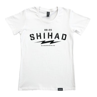 Shihad 88-20 Femme Fit Tee (White)