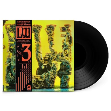 "King Gizzard & The Lizard Wizard L.W 12"" Vinyl (Black w/ Obi Strip)"
