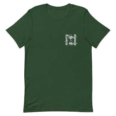 Misery Signals Hourglass Tee (Forest Green)