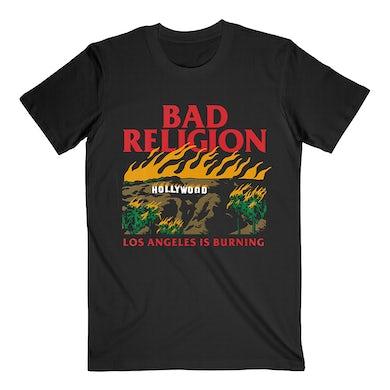 Bad Religion Burning Tee